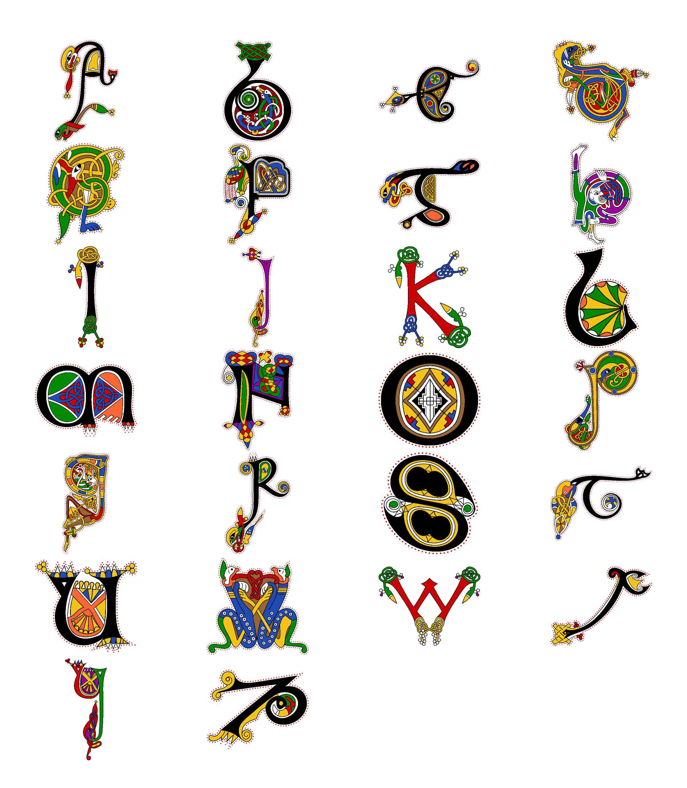 ... letters are the Book of Kells. Call (845) 821-6183 for pricing